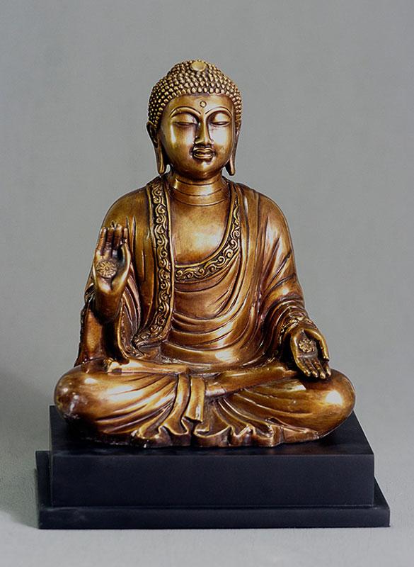 Amida Buddha On Base