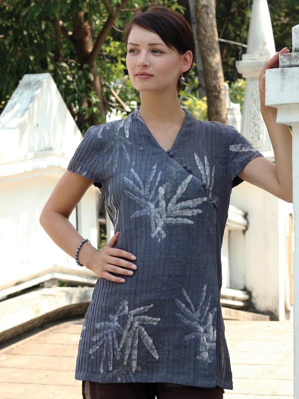 Batik Tunic Blouse