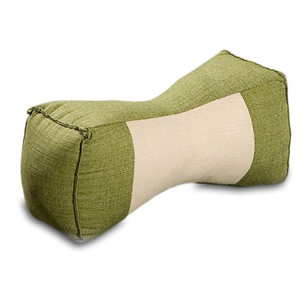 Neck Bolster Cotton Linen (green Sage)