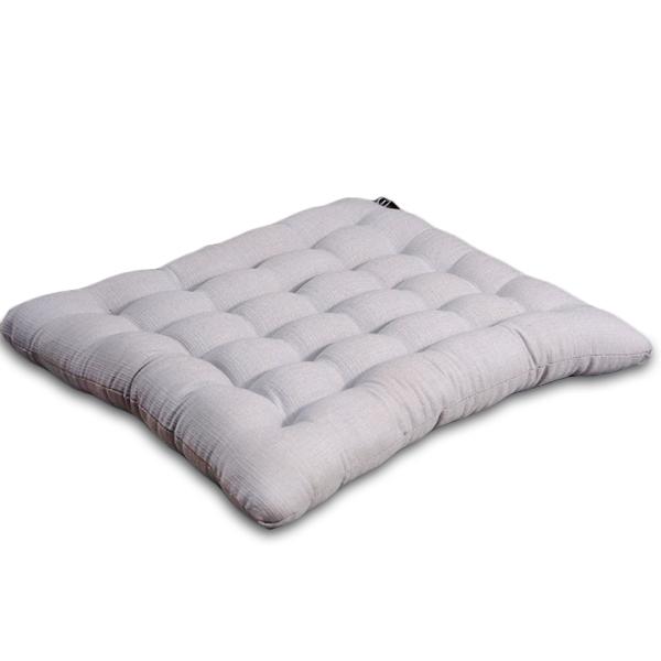 Japanese Cushion Cotton Linen (grey)