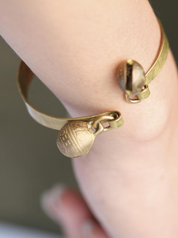 Double Bell Bracelet