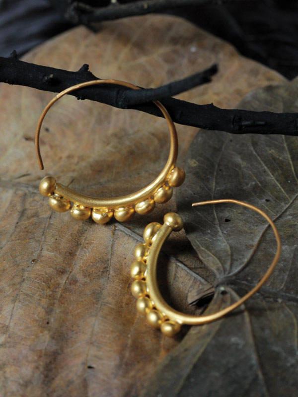 Golden Bagatelle Earrings