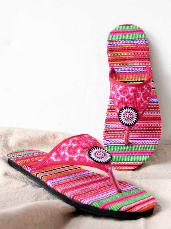 Hilltribe Mandala Sandals