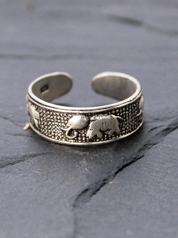Elephant Toe Ring