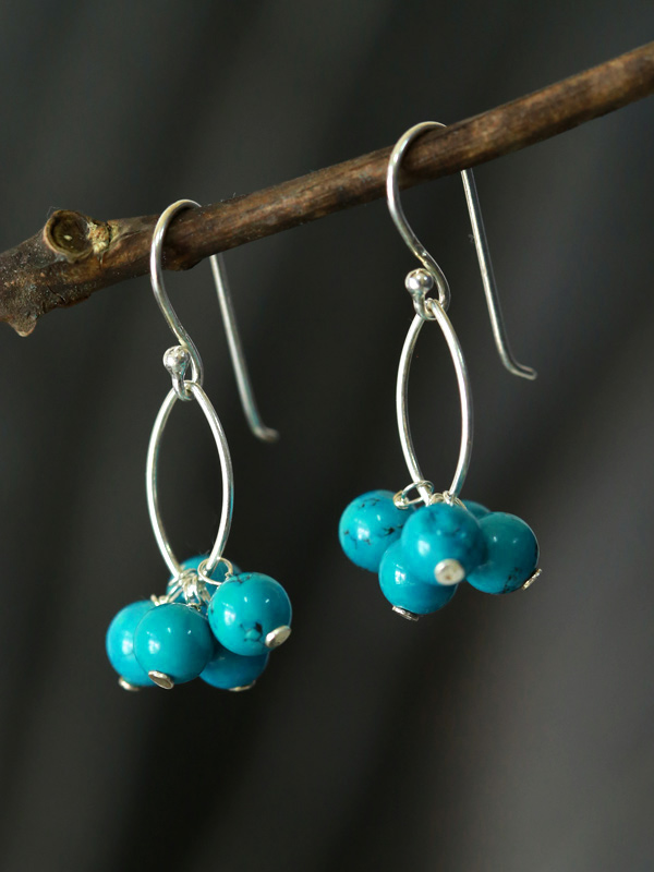 Turquoise Bunches