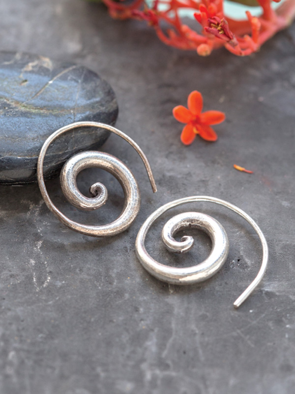 One Symbol Earring