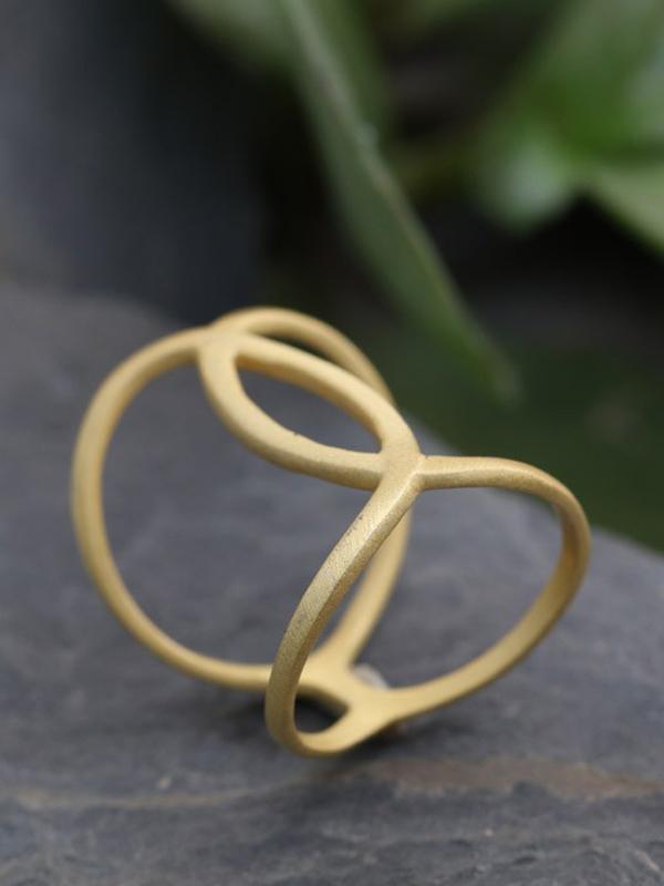 Gold Vermeil Matte/ 1