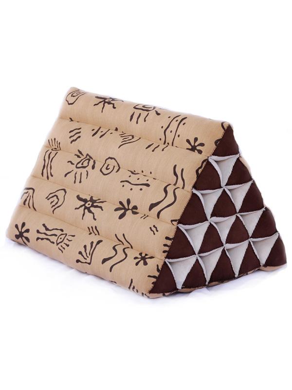King Triangle Pillow Batik (aboriginal)