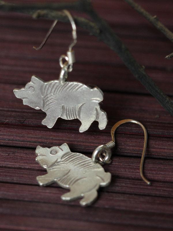 Piglet Earrings