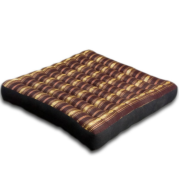 Meditation Cushion Royal Silklook (black)