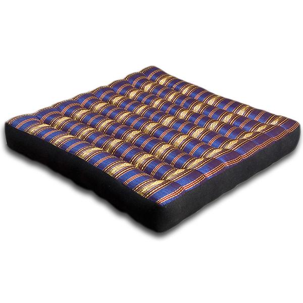 Meditation Cushion Royal Silklook (dark Blue)