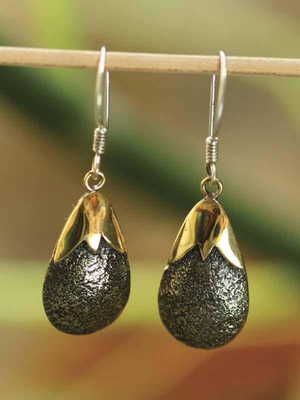 Seedpod Earrings
