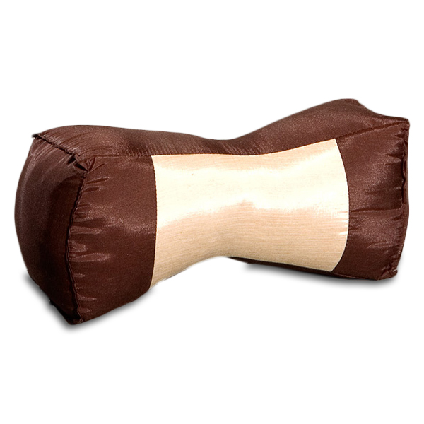 Neck Bolster Silklook (brown Tan)