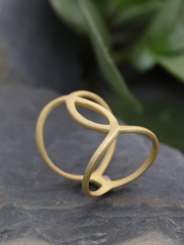 Gold Vermeil Matte/0.75