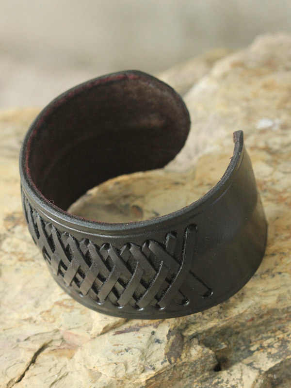 Stitched Leather Cuff