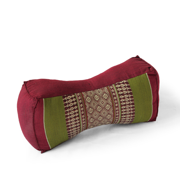 Neck Bolster Thai Classic (green Red)
