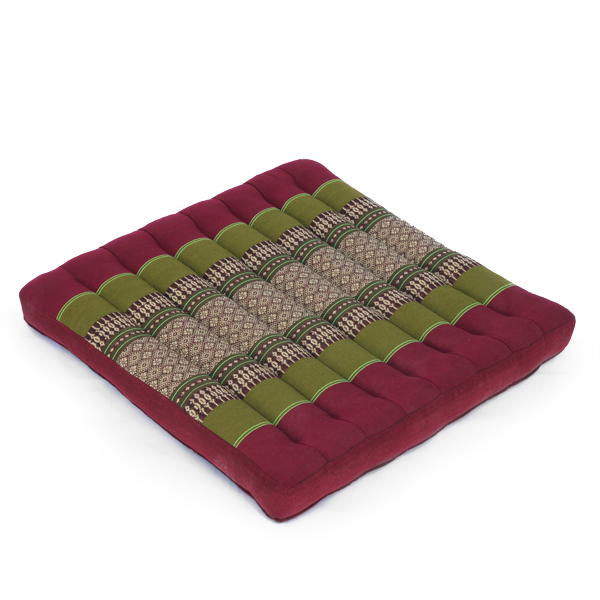 Meditation Cushion Thai Classic (green Red)