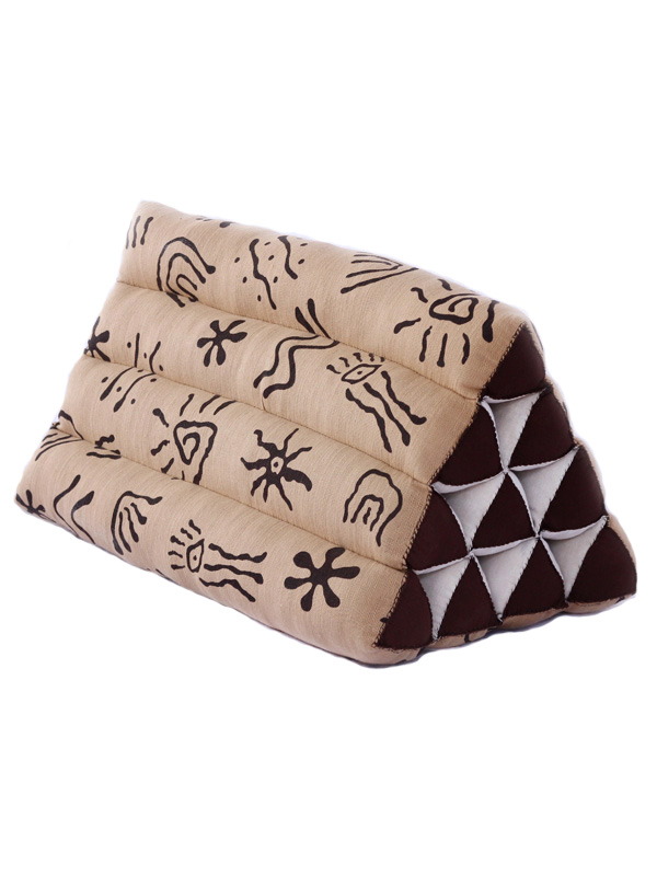 Triangle Pillow Batik (aboriginal)