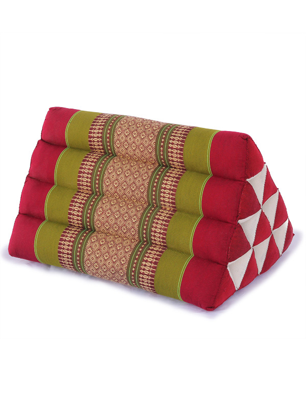 Triangle Pillow Thai Classic (green Red)