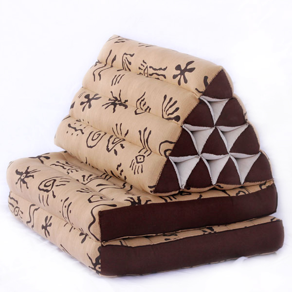 Triangle Pillow Two Fold Batik (aboriginal)