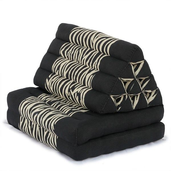 Triangle Pillow Two Fold Batik (zebra)