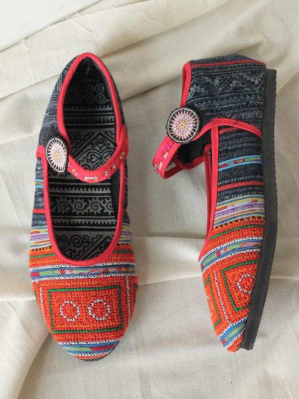 Tribal Mary Janes