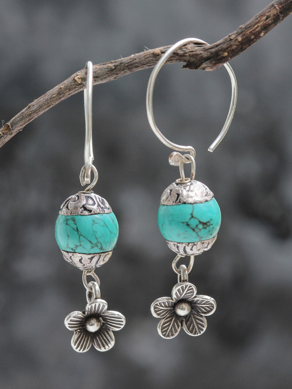 Frost Blossom Earrings