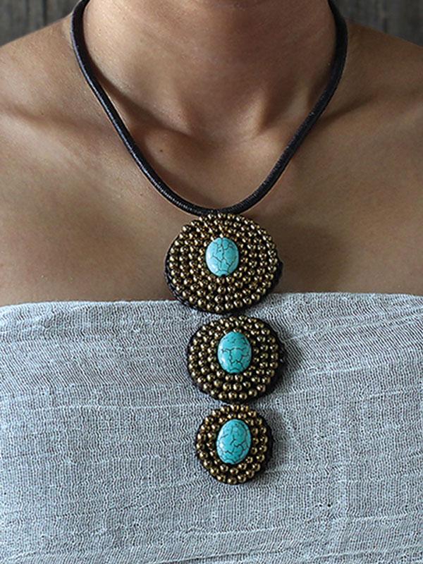 Turquoise Eminence Necklace