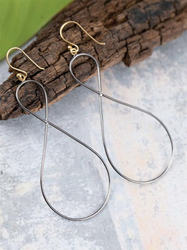 Figure-8 Earrings