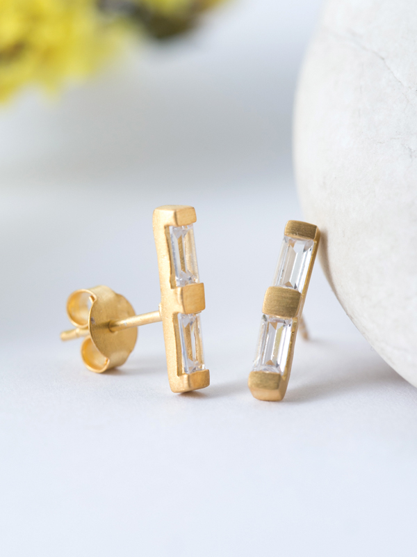 Duo Filament Earrings