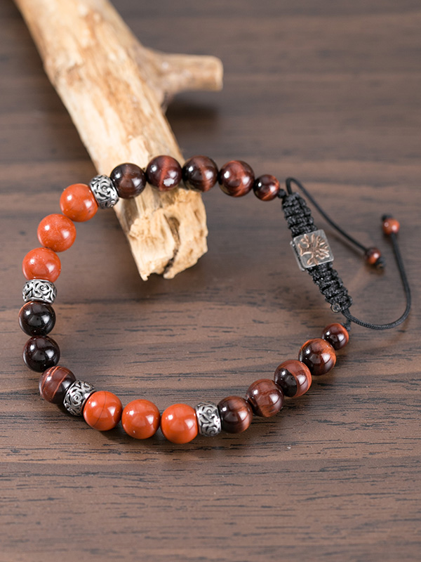 Red Jasper And Red Tiger Eye