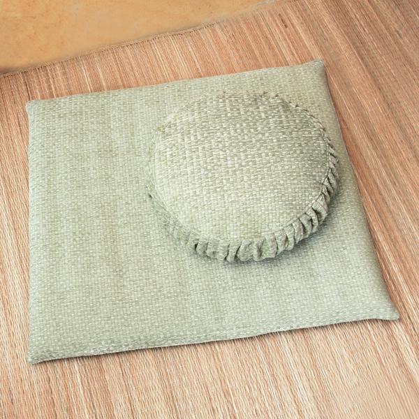 Zafu And Zabuton Tatami Weave Set (spring)