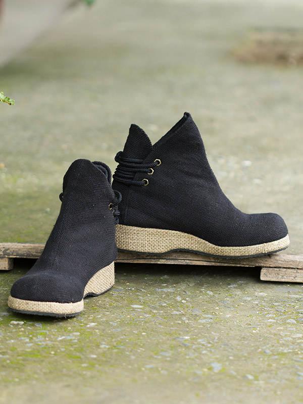 Jute Boots