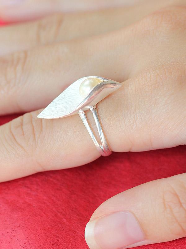 Hidden Pearl Ring