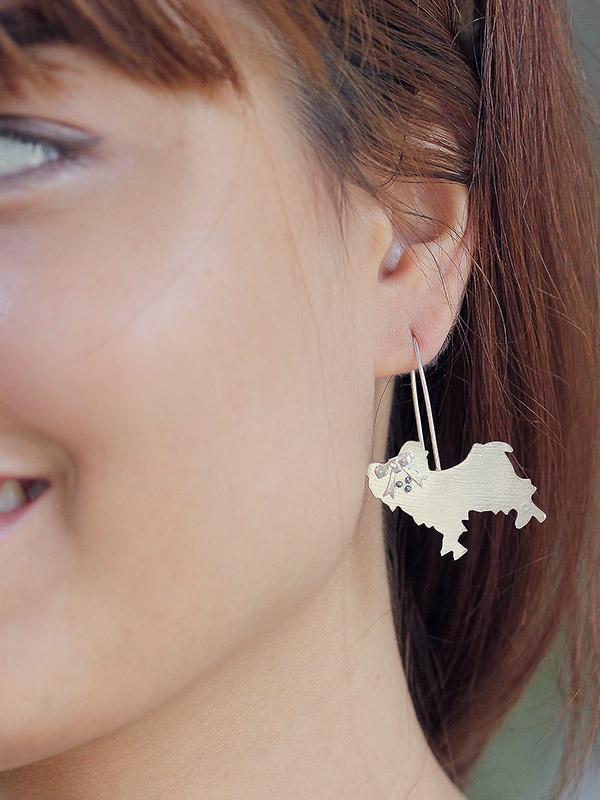 Maltese Earrings