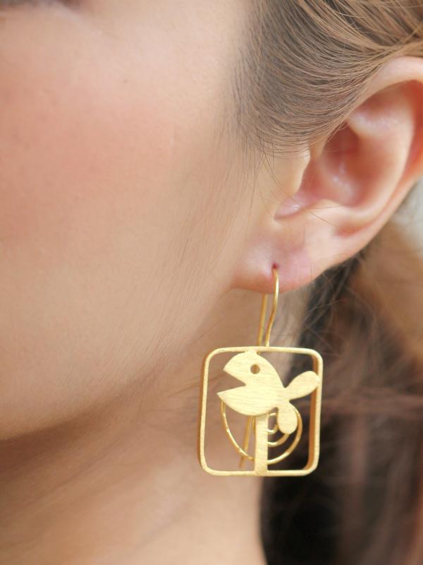 Story Fish Earrings