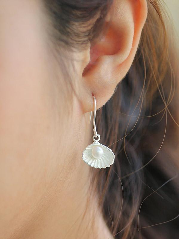 Half-Shell Earrings