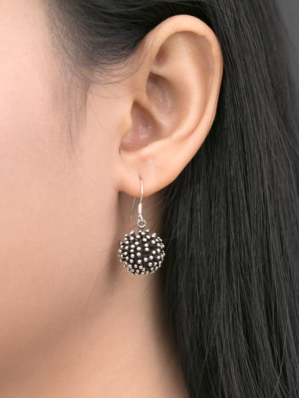 Black Singularity Earrings