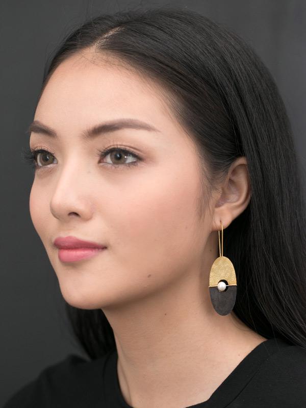 Semaphore Earrings