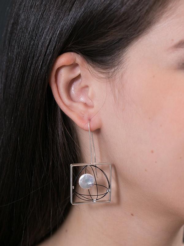 Trajectory Earrings