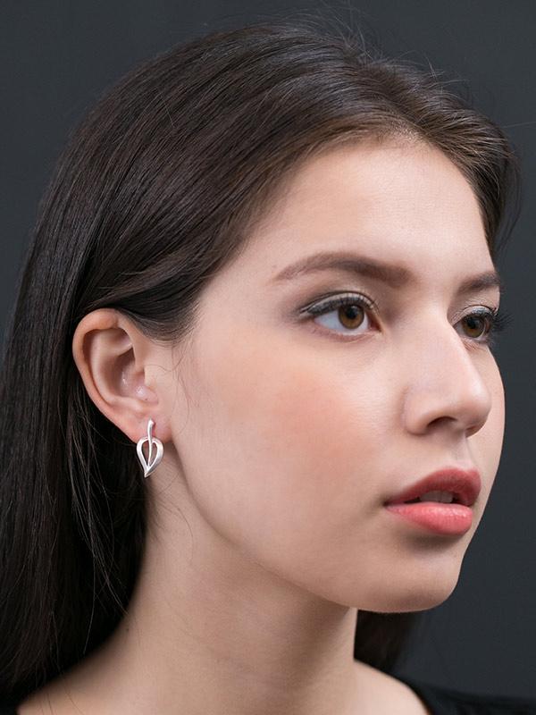 Tealeaf Earrings