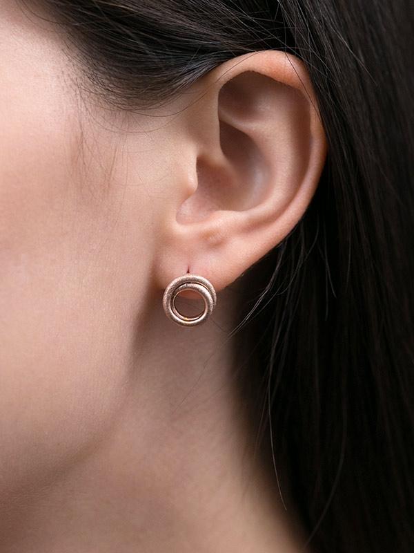 Golden Cord Earring
