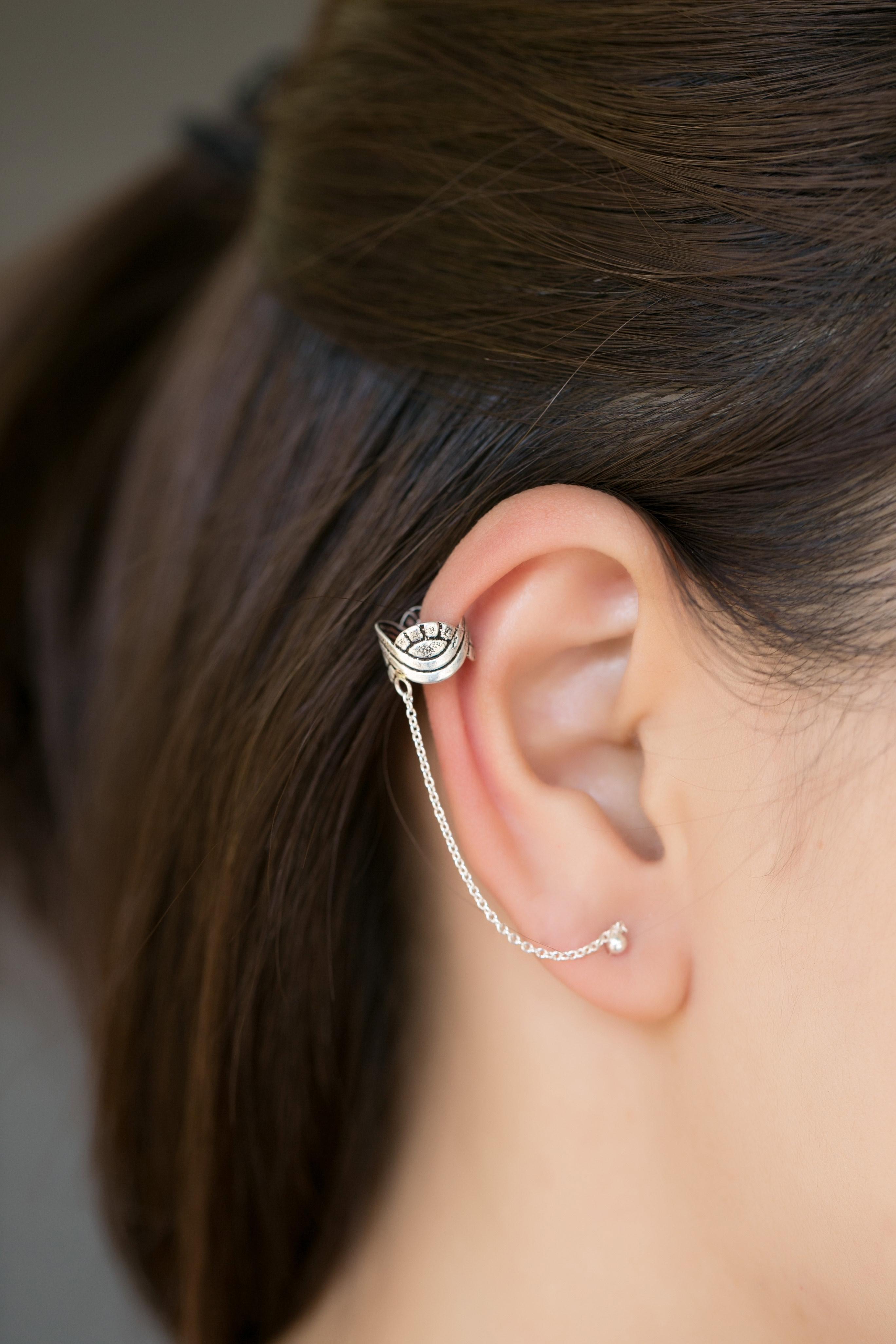 Overpass Ear Cuff Studs