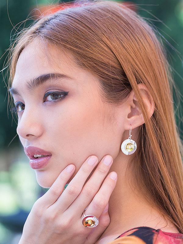 Chrono Earrings