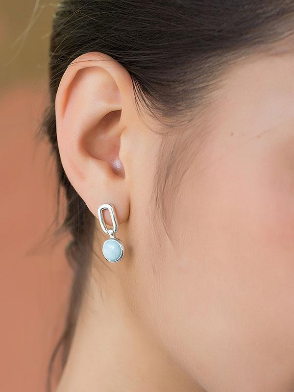 Cloud Link Earrings