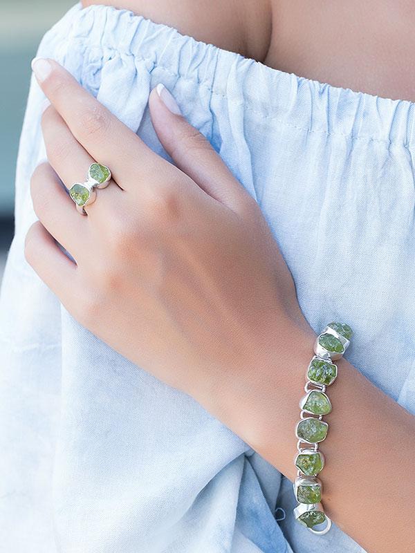 Dual Stone Ring