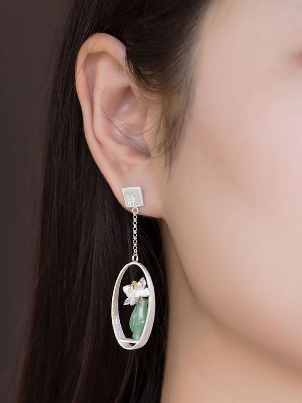 Vase Earring