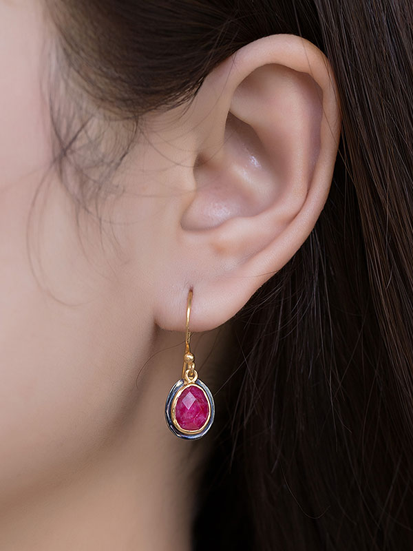 Tricolor Earring