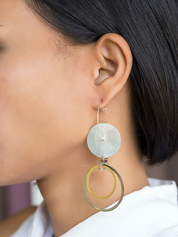 Circle Circus Earrings