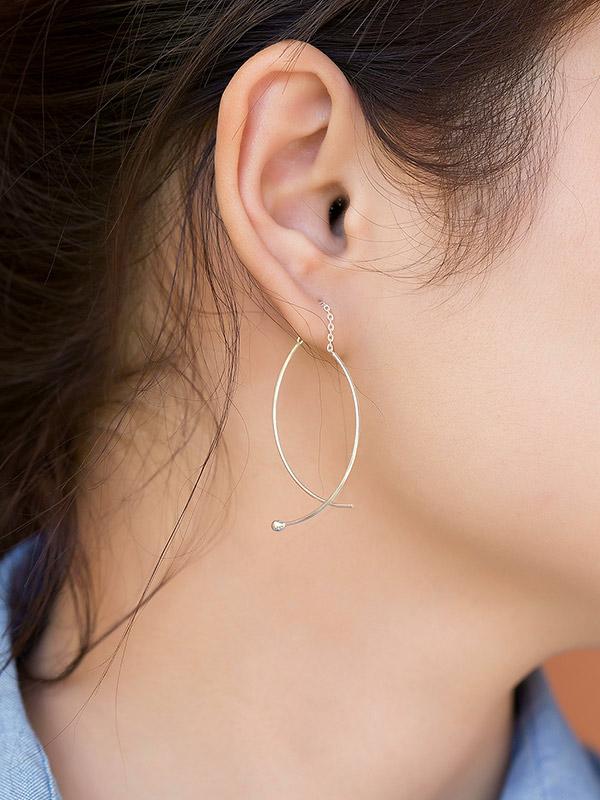 Balance Bow Earrings